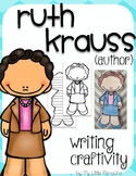 """Ruth Krauss """"Craftivity"""" Writing page (Author of The Carrot Seed)"""
