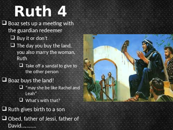 Ruth PowerPoint Bible walkthrough