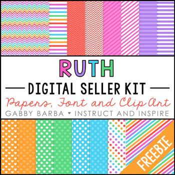 Ruth Seller Kit Freebie