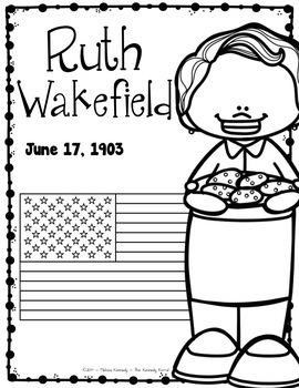 Ruth Wakefield: Biography Research Bundle {Report, Trifold, & MORE!}