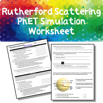 Rutherford Scattering PhET Simulation Guide