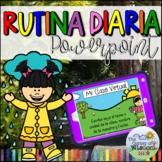 Rutina diaria de Primavera - Spring - Daily Virtual Routine in Spanish