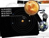 Révolution et Rotation de la Terre et de la Lune - Version