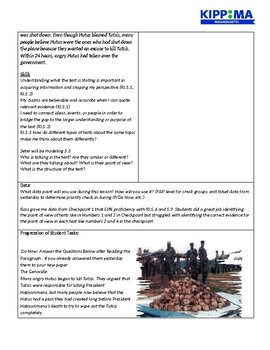 Rwanda Genocide Lesson Plan Day 2