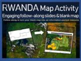 Rwanda Genocide Map Activity: Interactive, engaging follow-along 18-slide PPT