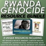Rwanda Genocide - Resource Bundle (8 Resources with Rubrics and Teacher Keys)