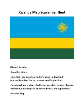Rwanda Map Scavenger Hunt