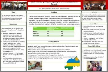 Rwanda- Womens equality for education