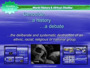Rwandan Genocide Brief History of Genocide PowerPoint