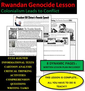 Rwandan Genocide Lesson