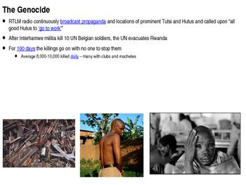 Rwandan Genocide Mini-Unit