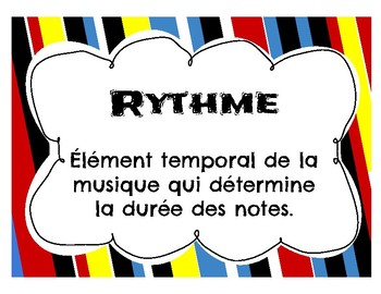 Rythme- Mur de mots