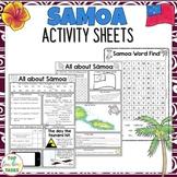 Samoa Reading and Writing Activities