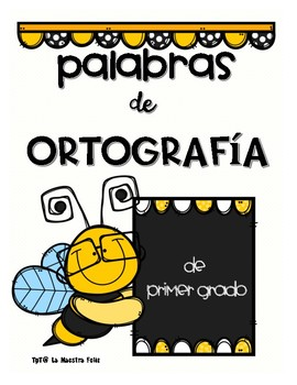 Spanish Spelling Words/ J/g sonido de Ortografía