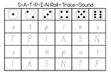 S-A-T-P-I-N Roll-Trace-Sound (Vic Cursive)