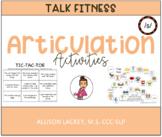 /S/ Articulation Activities
