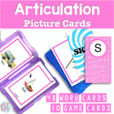 Articulation Picture Cards for S