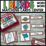 L BLEND Center Cards | Matching
