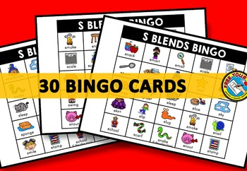 S BLENDS ACTIVITIES: S BLENDS BINGO GAME FOR WHOLE CLASS: S BLENDS GAMES