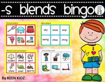 S BLENDS BINGO