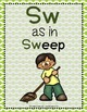 Word Work: S BLENDS - SP-SW