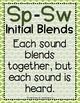 Word Work - S BLENDS - SP-SW Sorting Center {ABC Order, An