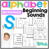 S Beginning Sound Letter of The Week Activity Pack