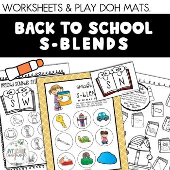S-Blend Activities: School Themed Edition