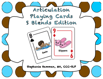 S Blend Articulation Playing Cards