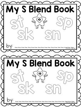 S Blend Writing Book