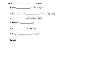 S Blend CCVC Assessment