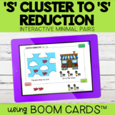 """S Blend Cluster Reduction to """"S"""" Interactive Minimal Pairs"""