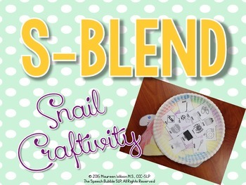 S-Blend Craftivity
