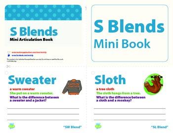 S Blend Mini Articulation Book (Freebie)
