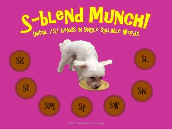 S-Blend Munch (initial position/1 syllable)