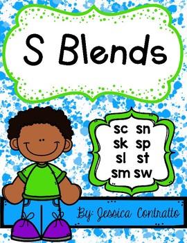 S Blend NO PREP Printables