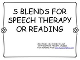 S Blend Packet