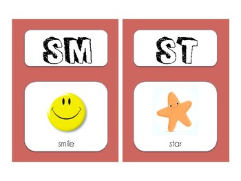 S Blend Picture Cards