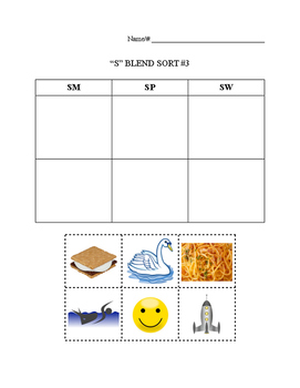 S Blend Picture Sort