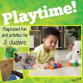 S Blends Playtime! Activities for S Clusters