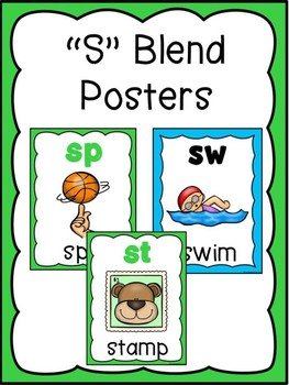 S Blend Posters
