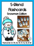 S-Blend Snowmen Articulation Flashcards