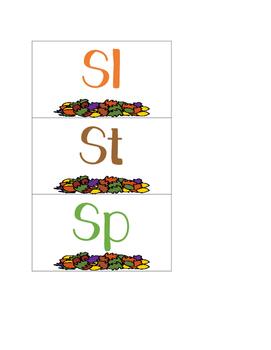 S Blend Sort--Thanksgiving Themed