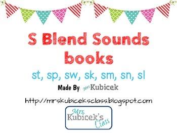 S Blend Sound Books