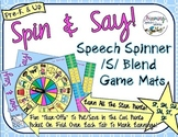 S-Blend Spin Mats: Consonant Cluster Reduction & Stopping