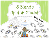 S Blend Spider Smash - Articulation Therapy