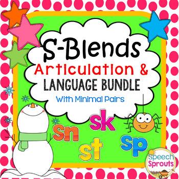 S-Blend Speech and Language Articulation Bundle