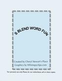 S Blend Word Fun
