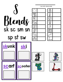 S Blend Words