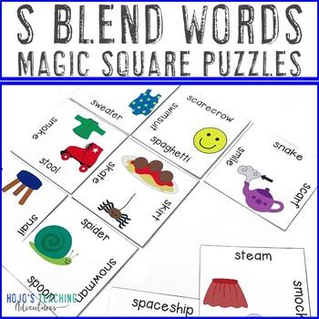 S Blends Literacy Center Game